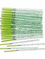 cheap -100 Pcs Disposable Eyelash Brush Applicator Wands Curler Brush Kit Mascara Eyebrow Spoolers Comb Wands Spoolies Makeup Brushes