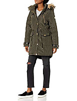 cheap -women's outerwear jacket, anorak olive, s