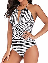 cheap -womens plus size costume padded swimsuit monokini push up bikini sets swimwear black