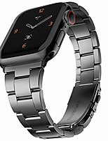 cheap -compatible with apple watch bands 38mm 40mm, innovative no tool needed stainless steel replacement straps iwatch bracelet for apple watch series 6 5 4 3 2 1 se, silver-gray