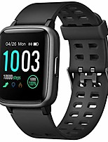 cheap -smart watch with heart rate monitor, compatible with iphone samsung android phones, ip68 waterproof activity tracker smartwatch with calorie counter sleep monitor for women men