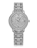 cheap -iced-out gold watch studded with diamonds quartz geneva hip hop watches