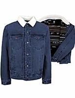 cheap -hooey men's denim lined jacket hj053de