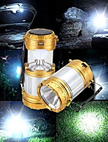 cheap -vastfire camping lantern solar powered handhold led flashlight outdoor portable rechargeable collapsible, fishing, hiking, emergency charging for mobilephone