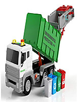 cheap -garbage truck toy with 4 rear loader trash cans dump toy truck play vehicles car