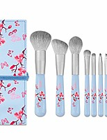 cheap -professional makeup brush nano silk 8 makeup brush set beginner makeup tools set eye shadow brush eyebrow brush blush loose powder makeup brush soft bristles (color : blue)