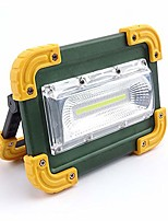 cheap -portable outdoor camping glare light usb rechargeable rainwater emergency lighting red and blue flashing signal light (color : green)