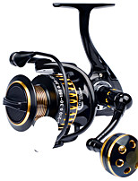cheap -Fishing Reel Spinning Reel 5.0:1 Gear Ratio 12 Ball Bearings Adjustable for Sea Fishing / Freshwater Fishing / Trolling & Boat Fishing