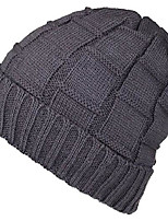 cheap -mens new winter hats knitted classic twist cap thick beanie hat (one size, grey a)