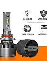 cheap -H7 led canbus HB4 9012 HIR2 H11 H8 20000LM HB3 9005 9006 Lamp H4 led headlight auto turbo Running Fog Light bulbs for cars