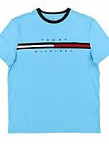 cheap -men's short sleeve logo t-shirt, bachelor button-pt, xxxl