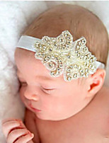cheap -1pcs Toddler / Infant Girls' Active / Sweet Solid Colored Hair Accessories White / Gold / Beige One-Size