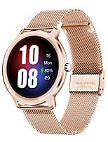cheap -S06 Women's Smartwatch Bluetooth Heart Rate Monitor Blood Pressure Measurement Calories Burned Health Care Camera Control Stopwatch Pedometer Call Reminder Activity Tracker Sleep Tracker