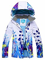 cheap -women's windproof and waterproof snowboard colorful ski jacket