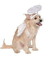 cheap -dog cat feather angel halo wing pet costume accessories set photography props