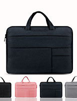 cheap -13.3 Inch Laptop / 14 Inch Laptop / 15.6 Inch Laptop Sleeve / Briefcase Handbags Canvas Solid Colored for Men for Women for Business Office Shock Proof