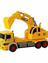 cheap -friction powered toy excavator truck construction vehicle kids toy with movable parts for kids age 3+