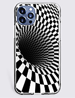 cheap -Creative Graphic 3D Print Case For Apple iPhone 12 iPhone 11 iPhone 12 Pro Max Unique Design Protective Case Shockproof Hot Style Back Cover TPU