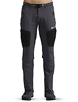cheap -men's stretch convertible hiking pants belted quick drying(30w x 29l,gray)