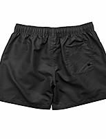 cheap -men pure color splice stripe beach work casual men short trouser shorts pants black