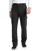 "cheap -men's quick dry waterproof fleece snow hiking pants 7005 black xs 34"" inseam"