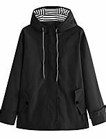 cheap -doric womens outdoor sport lightweight jacket waterproof windproof rain jackets hooded raincoat windbreaker black