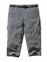 cheap -women's upf 50+ sun protection outdoor shorts lightweight workout running jogger golf capri pants,2151,grey,28