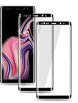 """cheap -galaxy s9 plus screen protector, (2-pack) tempered glass screen protector [force resistant up to 11 pounds] [full screen coverage] [case friendly] for samsung s9 plus(6.2"""")"""