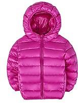 cheap -little boys and girls lightweight packable hooded jacket windproof outwear puffer down coats