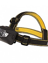 cheap -cree 5led head torch (one size) (black)
