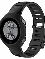 cheap -tpu case smart watch silicone protective case for garmin forerunner 610(black). (color : black)