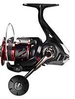 cheap -Fishing Reel Spinning Reel 5.7:1/5.1:1 Gear Ratio Ball Bearings Sea Fishing / Bait Casting / Freshwater Fishing / Trolling & Boat Fishing / Hand Orientation Exchangable
