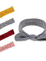 cheap -1pcs Kids / Toddler Girls' Sweet Solid Colored Hair Accessories Yellow / Wine / Light gray One-Size