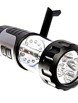 cheap -led portable hand crank dynamo multifunctional outdoor camping usb rechargeable tent light flashlight lantern lamp torch home emergency