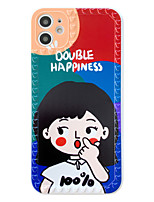 cheap -Case For Apple iPhone 11 / iPhone XR / iPhone 11 Pro Shockproof / Pattern Back Cover Cartoon Silica Gel