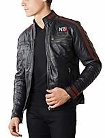cheap -men's commander shepard n7 mass effect leather jacket (xxx-large) black