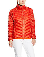 cheap -women's vulcan down jacket, fire brick, x-small