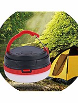 cheap -portable camping lights 3w camping lantern waterproof tents lamp outdoor hiking night hanging lamp,3w,rblack white