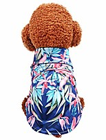 cheap -bolubiluy pet dog hawaii beach tropical floral polo t-shirts,dog cute cotton shirts for small to medium dogs cats