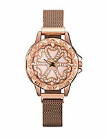 Недорогие -Лучшие модные магнитные вращающиеся часы, новые мужские и женские кварцевые часы