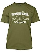 cheap -shake n bake - that just happened! men's t-shirt (olive, x-large)