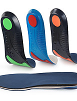 cheap -Velvet Shoe Inserts Running Insoles Sneaker Insoles Women's Men's Sports Insoles Foot Supports Anti-Slip Shock Absorption Breathable for Fitness Gym Workout Running Fall Winter Spring Red Orange Green