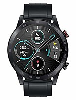 """cheap -honor magic watch 2 smart watch 1.39"""" amoled display bluetooth call activity tracker 5atm waterproof 14days battery life sport smartwatch with mic for women men (charcoal black)"""