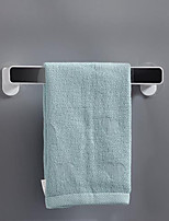 cheap -Towel Rack Free Punching Toilet Bathroom Shelf Suction Cup Hanger Bath Towel Shelf Simple Creative Single Rod