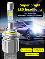 cheap -2Pcs Car LED Lamp Headlight H7 H4 H1 H3 H11 9005 9006 LED Bulbs 4300K 6000K Led Headlight Fog Light 12V 24V