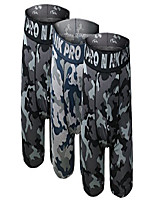 cheap -men's performance boxer briefs sports underwear 3 pack(x-large, camouflage grey/navy/grey/)