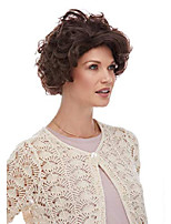 cheap -mom grandma wig color brown - sepia costume wigs curly family granma short nanna century theater mama women tv show
