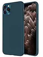 "cheap -iphone 11 pro max case,premium pu leather slim luxury flexible hybrid defender anti-slip soft grip scratch resistant protective cover cases for apple iphone 11 pro max (6.5"") - dark green"