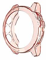 cheap -tpu case suitable for garmin fenix 5x & 5x plus transparent tpu watch case(transparent white). (color : transparent orange)