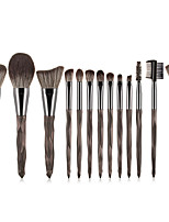 cheap -Professional Makeup Brushes 13pcs Soft Full Coverage Lovely Comfy Plastic for Eyeliner Brush Blush Brush Foundation Brush Makeup Brush Lip Brush Lash Brush Eyebrow Brush Eyeshadow Brush